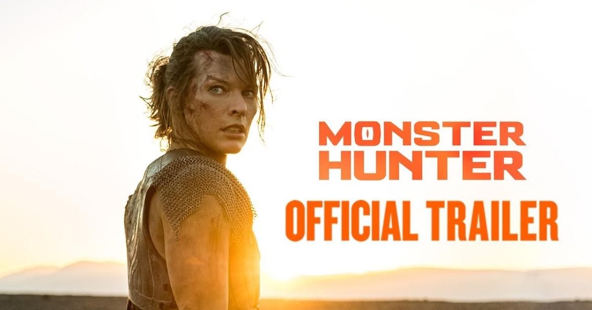 První ukázka zfilmu Monster Hunter je venku!