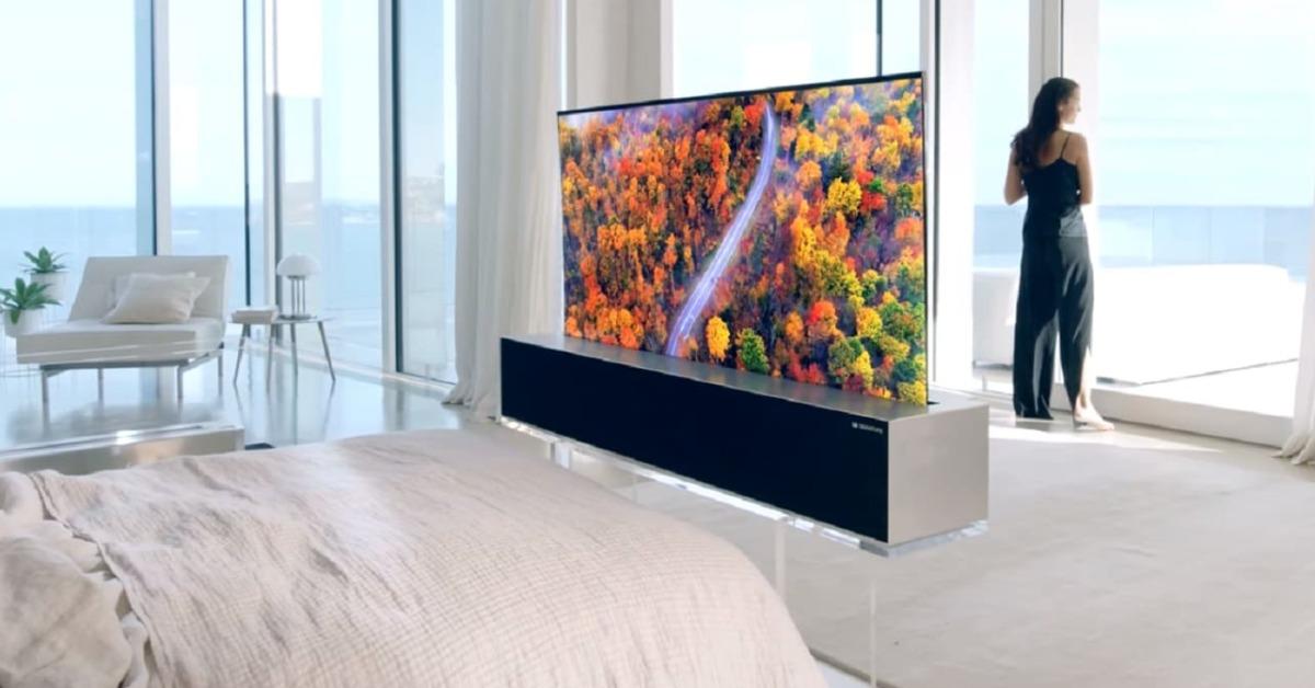 Nová televize od LG se dá srolovat jak noviny