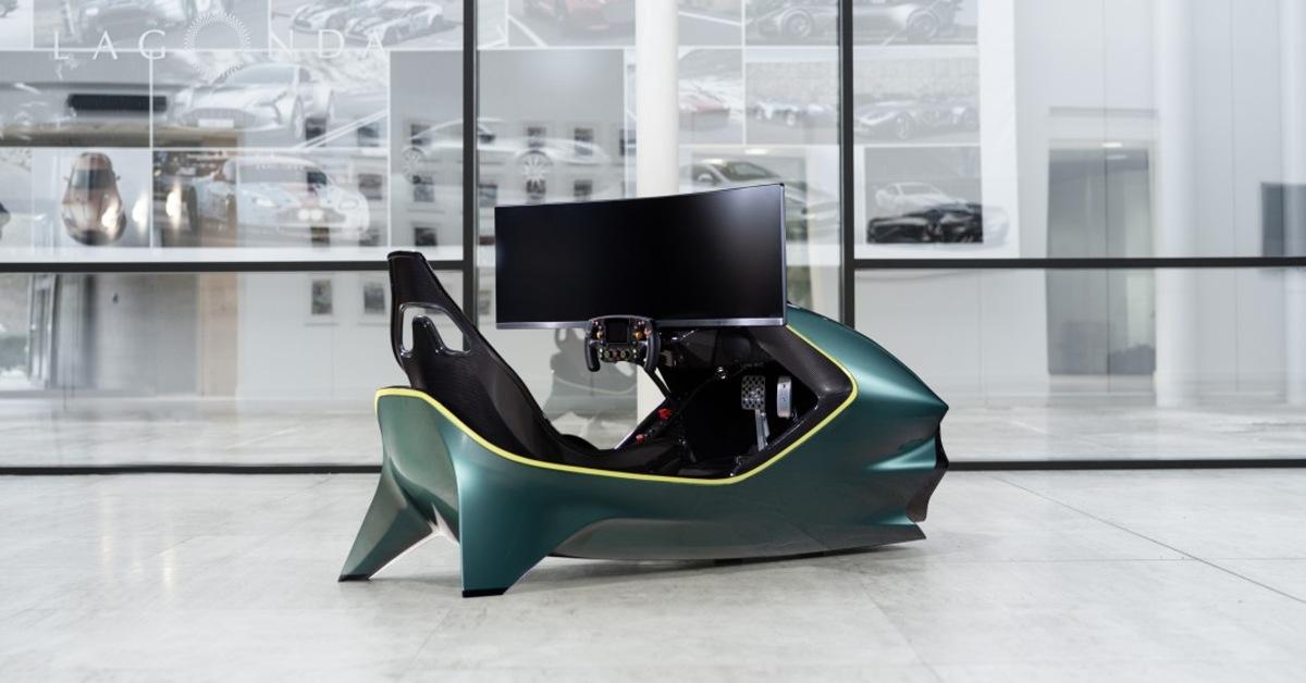 Aston Martin vobýváku? Automobilka sestrojila luxusní simulátor