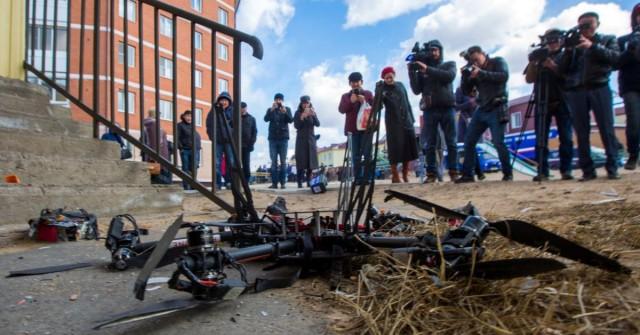 Takhle to dopadá, když se v Rusku rozhodnou doručovat balíky dronem