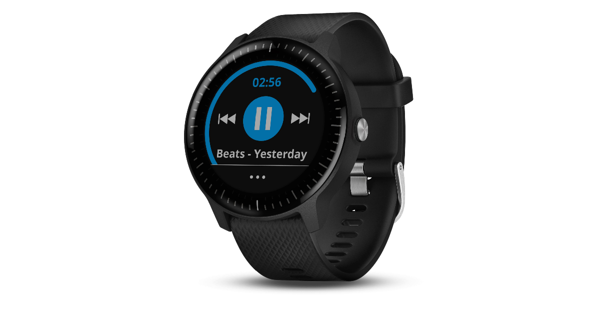 Čas na beaty! Garmin přidává do hodinek Vivoactive 3 hudbu
