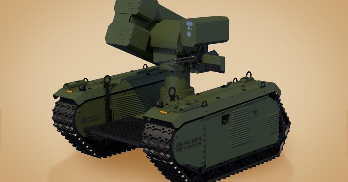 Vojáci, pozor! Robot zničí tank až na pět kilometrů
