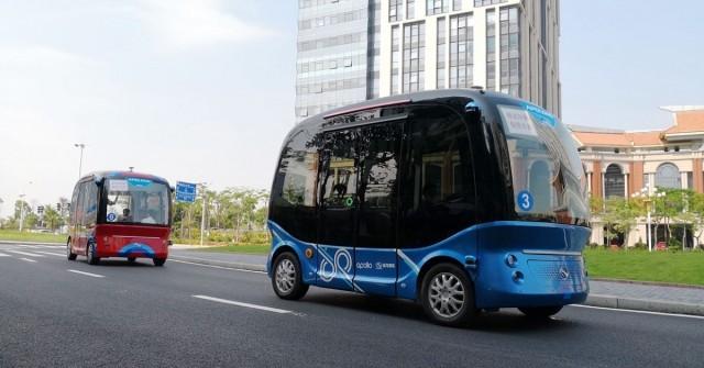 Baidu pošle své samořiditelné minibusy i do Japonska