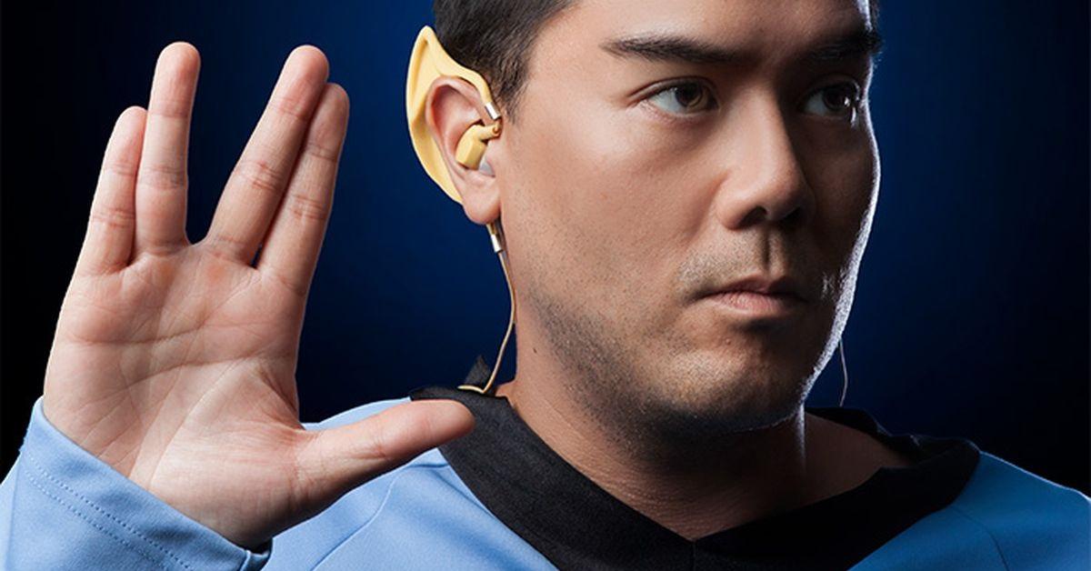 Sluchátka pro trekkies. Nasaďte si Spockovy uši