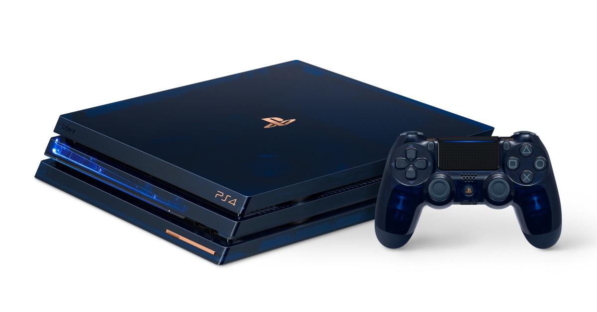 Sony oslaví půlmiliardu PlayStationů průsvitnou limitkou