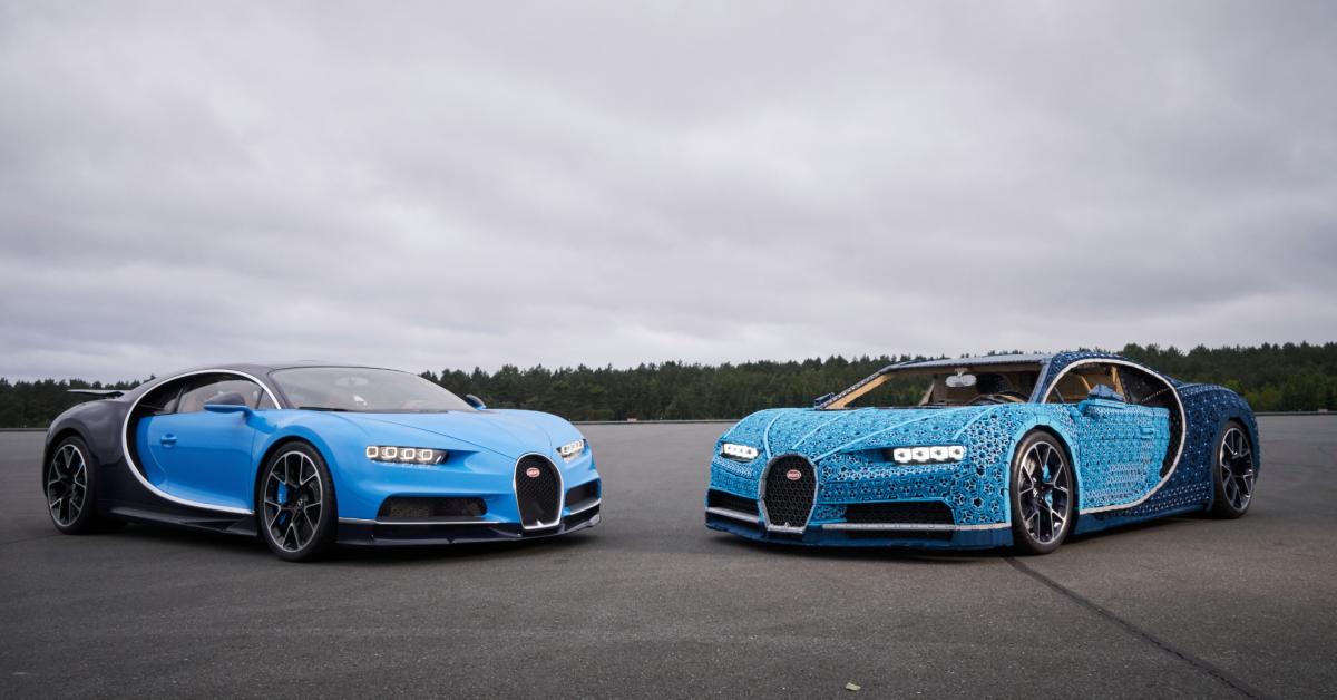 Češi postavili zlega supersport Bugatti Chiron. Jezdí rychlostí 29 km/h