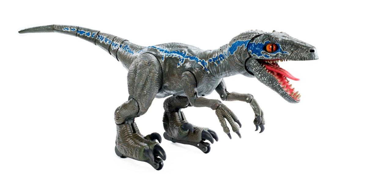 Roboraptora si musíte ochočit jako Chris Pratt