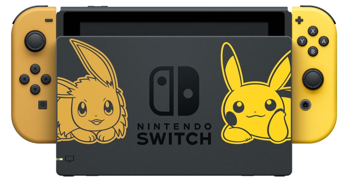 Chyť je všechny! Tenhle Switch doporučuje Pikachu