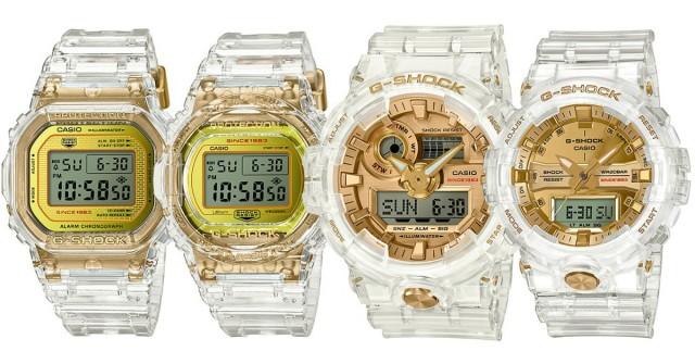 G-Shock slaví výročí hodinkami z ledovce