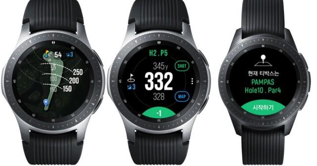 Rovnou do jamky! Samsung má hodinky pro golfisty