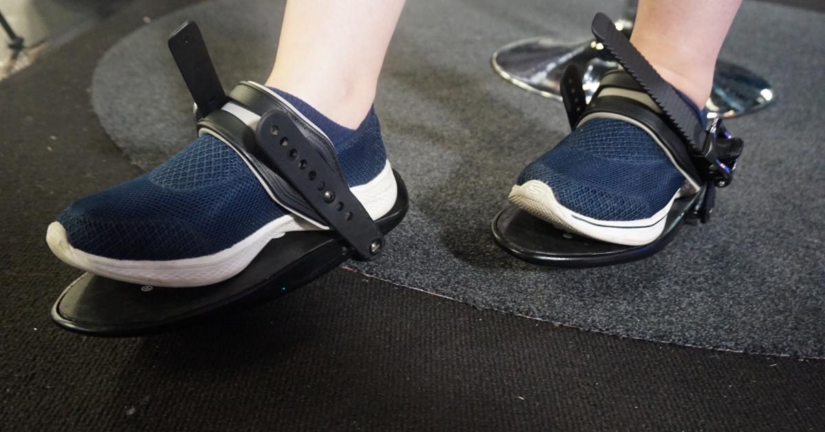 Cybershoes jsou boty do virtuální reality