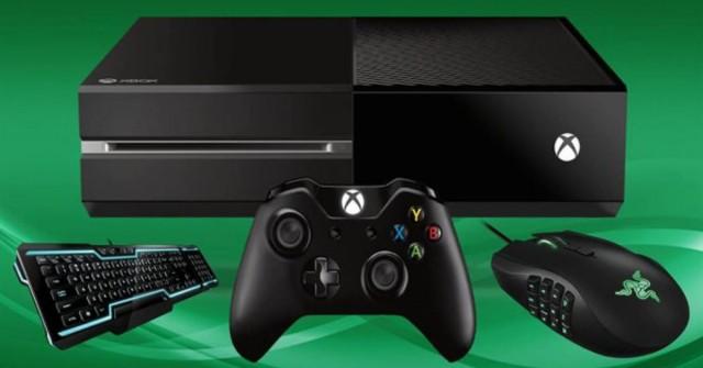 Xbox One a myš? První hráči už klikají