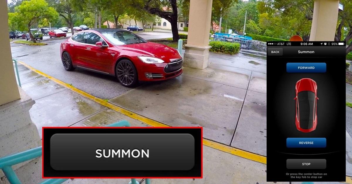 Auta Tesla po upgradu přijedou na zavolání