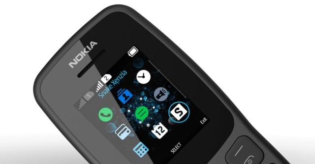 Ani funkce navíc. Nokia 106 je ideální telefon na Hada