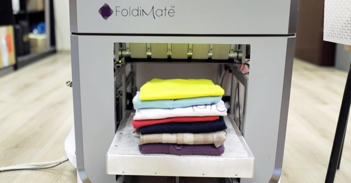 AI služka FoldiMate za vás složí prádlo