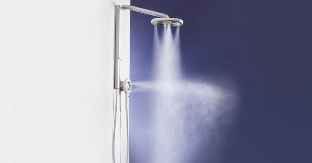 Sprcha budoucnosti šetří vodou, ale umyje vás víc