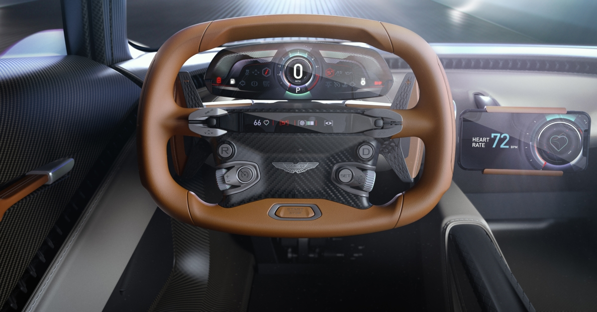 Palubka z3D tiskárny a mobilu. Aston Martin se nových technologií nebojí