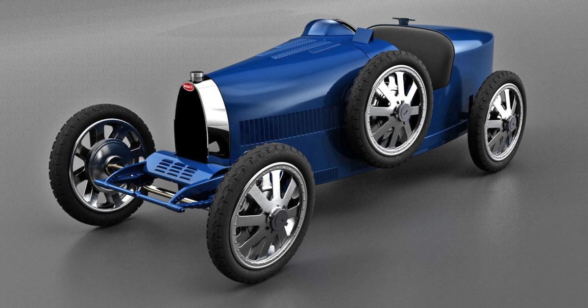 Legendární Bugatti se vrací do výroby. Jako autíčko pro děti (s bohatými rodiči)