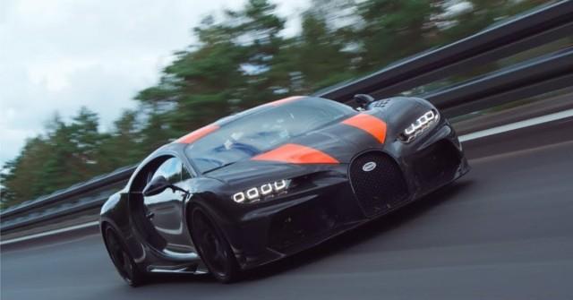Bugatti překonalo rychlostní rekord. Jelo skoro 500 km/h